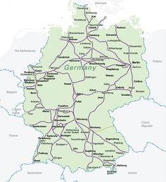 extraordinary germany train get efficient way here germany train map