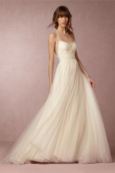 BHLDN Rosalind from Willowby by Watters New Wedding Dress on Sale 30% Off