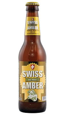 Swiss Amber is a well balanced, full flavored, amber ale. At first glance, this reddish-copper ale looks strong and heavy, but one sip proves that it's as smooth as silk.  It has a rich, malty body with a pleasant caramel character derived from the specialty caramel malt. It has a complex hop aroma, with a hint of floral and citrus which comes from a combination of hops. It pours a rich, creamy head with a fine lace. The light fruitiness, characteristic of ales, is derived from a proprietary…