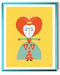 BabyLit Alice in Wonderland: QUEEN OF HEARTS