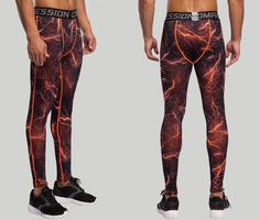 3c81fc1b67 Mens compression pants bodybuilding jogger fitness exercise skinny leggings  comperssion tights pants trousers clothes clothing