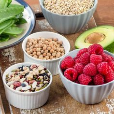 20 Ultimate High-Fiber Foods + the Benefits of Each by @draxe