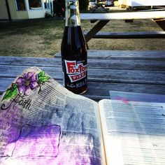 When at Foxton Beach for Church camp it's traditional to drink Foxton fizz of course. And just had the best Foxton Beach swim - also a yearly tradition not always with perfect conditions like today though. And starting a new tradition - bible journaling outside in the beautiful late afternoon sun while someone else cooks my dinner. Lots to be thankful for today. #foxtonbeach #foxtonfizz #traditions #thankful #biblejournaling by beverleywarwick Church Camp, Yearly, Journaling, Thankful, Swim, Bible, Community, Traditional, Drink