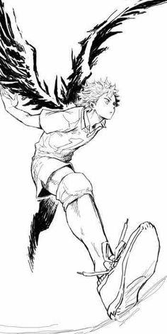 【 Haikyuu!! ハイキュー‼︎ 】 Hinata Shōyō ; Wings