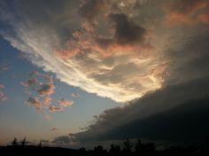 Sunset storm. Photo by Catherine Boynton, Cochrane, AB.