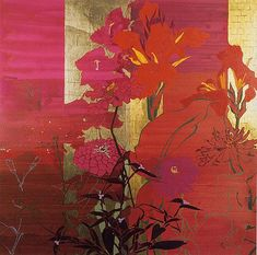 For One Who Loved Red Flowers - Robert Kushner