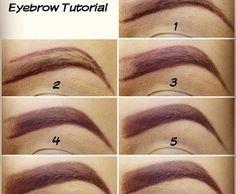 Lovely eye brows! <3    #brows #styles #nice #eye #makeup