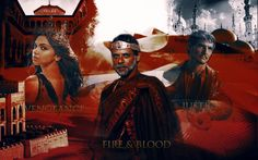 Elia, Doran & Oberyn Martell - Game of Thrones Fan Art, Dorne