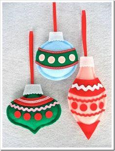 karácsonyi dekoráció filcből - Google keresés