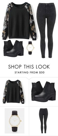 """""""Без названия #297"""" by mariami-princess2013 ❤ liked on Polyvore featuring Steve Madden, Daisy Dixon and Topshop"""