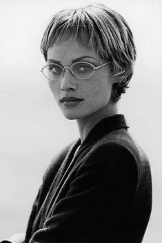 #Atribute to Frames: The Giorgio Armani 1993 eyewear campaign shot by Peter Lindbergh. See the dedicated article on Armani.com/Atribute