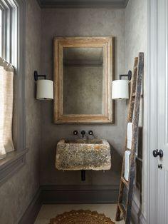 Bathroom Trends, Modern Bathroom, Small Bathroom, Master Bathroom, Bathroom Shelves, Bathroom Ideas, Mirror Bathroom, Washroom, Wood Bathroom