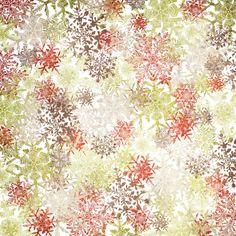 papier multicolore flocons