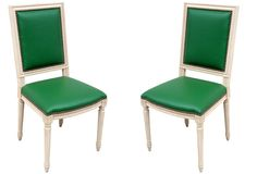 Grant K. Gibson - Louis XVI-Style Dining Chairs, Pair
