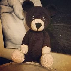 #haken, gratis patroon, Nederlands, amigurumi, knuffel, teddy beer, kraamcadeau, #haakpatroon, #crochet, teddy bear, free pattern (English), Danish, Spanish, Dutch), stuffed toy