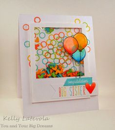 Hero Arts, Circles, Heydey Sentiments, Lawn Fawn, Admit One, Milos Abcs, Stitched Journaling Card, Copics, Hero Arts Shadow inks Pale Tomato, Butter Bar, Green Hills, Tide Pool, Shaker card