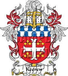 Keeren Family Crest apparel, Keeren Coat of Arms gifts