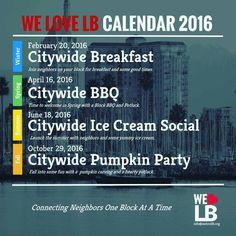 Neighborly ideas, WeLoveLB2016