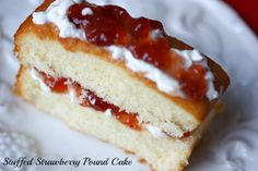 8 Ideas for Fixing Up a Store-Bought Pound Cake - great last-minute dessert ideas!
