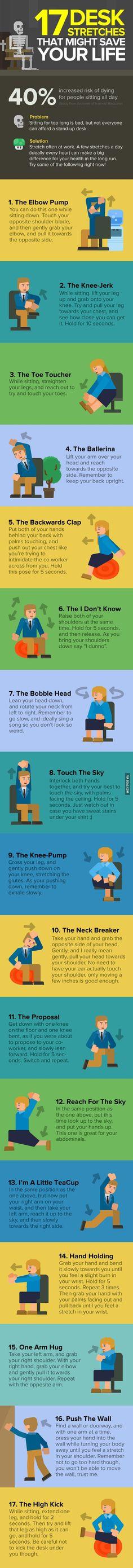 17 Desk Stretches Th