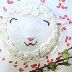 Happy Easter! {DIY Fluffy Lamb Cake} | happyandsimple
