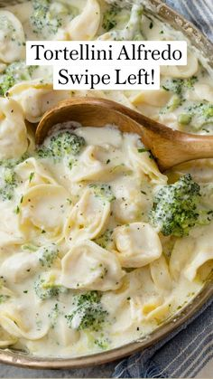 Pasta Recipes, Dinner Recipes, Cooking Recipes, Healthy Recipes, Best Alfredo Sauce Recipe, Tortellini Alfredo, Mashed Potato Recipes, Slow Cooker Beef, Pasta Dishes