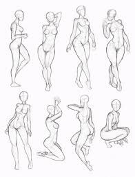Figure Drawing for Fashion Illustrations Art Poses, Drawing Poses, Drawing Sketches, Art Drawings, Sketching, Drawing Tips, Drawing Ideas, Drawing Art, Sketch Poses