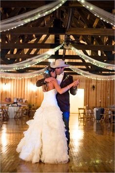 Country wedding dance