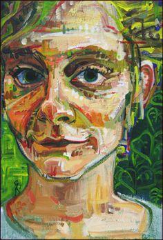 Gwenn Seemel, Self-portrait.