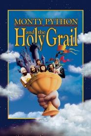 """Monty Python and the Holy Grail - Terry Gilliam, Terry Jones 1975 - -- """"The quest for the Holy Grail by King Arthur and his Knights of the Round Table is retold in the inimitable Python fashion. Monty Python, See Movie, Film Movie, Movies Showing, Movies And Tv Shows, Alamo Drafthouse, Terry Jones, Great Comedies, Ready Player One"""