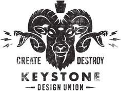 Keystone Design Union logo / repinned on toby designs