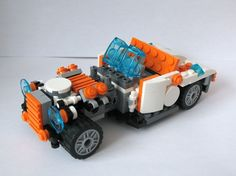 31034 - HotRod: A LEGO® creation by Jozsef Venczel : MOCpages.com