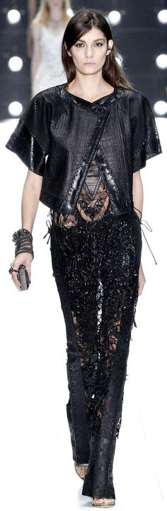Roberto Cavalli Spring Summer 2013 Ready-To-Wear Collection