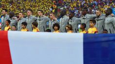 Ecuador v France and Honduras v Switzerland – World Cup 2014 LIVE: Latest on Day 14 including reaction to Luis Suarez's 'bite' as well as Argentina Nigeria and Bosnia Iran France Team, World Cup 2014, National Anthem, Bosnia, Ecuador, Switzerland, Brazil, French, Argentina