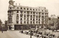 Bucuresti - Hotelul Athenee Palace - interbelica