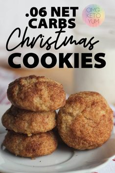 keto cookies These keto snickerdoodles are soft and chewy and low carb . These low carb snickerdoodles are perfect for low carb diets. Keto Snickerdoodles are just like the original christmas cookie minus the carbs! Try these keto cookies today! Keto Friendly Desserts, Low Carb Desserts, Low Carb Recipes, Dessert Recipes, Dessert Ideas, Breakfast Recipes, Low Carb Diets, Keto Cookies, Biscuits Keto