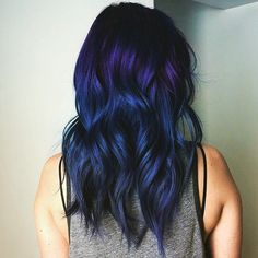 Dark-Purple Rainbow Hair Inspiration | POPSUGAR Beauty UK