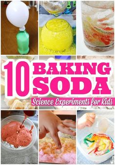 Baking soda science is fun for all ages!