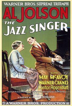 The Jazz Singer 27x40 Movie Poster (1927)