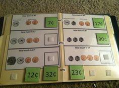Counting Coins File Folder Task with TouchMoney. Laminate and Velcro for repetitive practice. Follow Me on TPT:http://www.teacherspayteachers.com/Store/Inspired-By-Evan-Autism-Resources Like Me on Facebook:https://www.facebook.com/InspiredByEvan Follow Me on Pinterest:http://pinterest.com/evaninspired/boards/ and get inspired with more ideas for Autism at:http://autismeducators.com/Rani-Hegemier