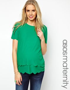 Double Scallop / ASOS {maternity or not.. still love it..}
