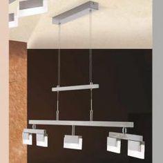 Tuscanor - Modern LED 4 Light Pendant - HL 6-1591/5