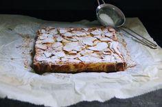 Een hele simpele maar zeer smaakvolle appelcake van Dorie Greenspan. Het lijkt meer op een appelcustard dan een appelcake.