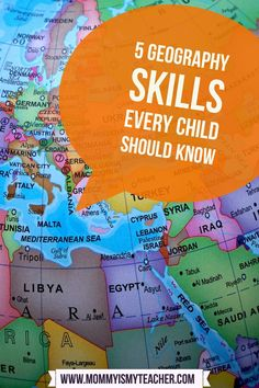 Geography is a skill that is almost nonexistent in today's public schools. Due to the focus on reading and math, social studies is often overlooked. This is why it is important to teach your child geography. Even if you don't have a lot of time, there are a few important geography skills every