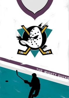 The Mighty Ducks film print Illustration Minimal film When Harry Met Sally, Donnie Darko, Movie Prints, Poster Prints, Duck Wallpaper, Iphone Wallpaper, Iphone Backgrounds, D2 The Mighty Ducks, Custom Flags