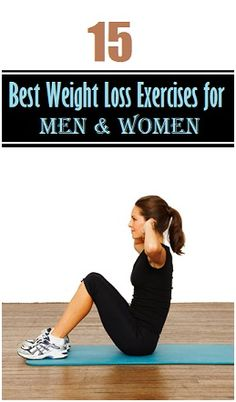 15 Best Weight Loss Exercises for Men and Women