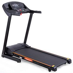 GYMAX Folding Treadmill Electric Incline Jogging Running Fitness Machine w/App Control, Large LCD Display, Black *** Read more at the image link. (This is an affiliate link) Folding Treadmill, Good Treadmills, Workout Results, App Control, Workout Machines, Running Workouts, Workout Programs, Jogging, Electric