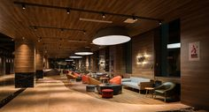 LAN Hotel & SPA in Changbaishan, China. Interiors designed by Red Design's Shanghai Office. Photo by Seth Powers.