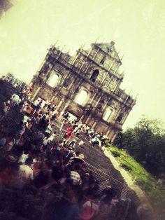 Ruins of St. Paul, Macau, China (UNESCO World Heritage Site Historic Centre of Macau)
