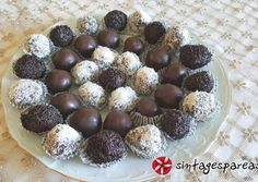 Praline Chocolate, Greek Desserts, Cereal, Cheesecake, Muffin, Cooking Recipes, Sweets, Canning, Breakfast